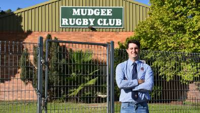 NEW YEAR, NEW ROLE: After 10 years of involvement with the Mudgee Wombats, Jefferey Hands has welcomed his new role as club president. Photo: Jay-Anna Mobbs