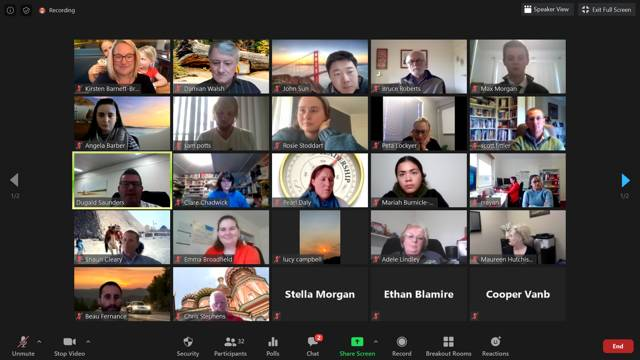 Club Mudgee Max Potential held their second Connect Group last week, once again via Zoom.