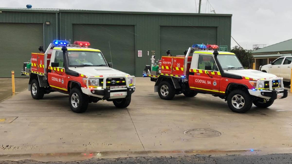 Two brand new Category 9 (ultra light) firefighting appliances were assigned to the Cooyal Brigade this week, perfect timing with temperatures forecast to nudge 40 degrees this coming weekend. Photo: NSW RFS - Cudgegong District.