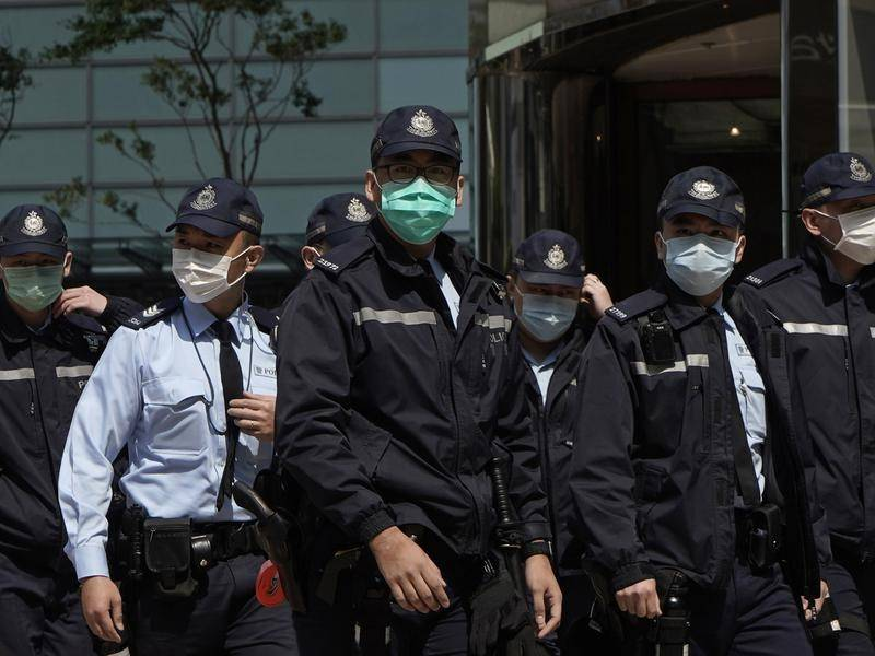 A Hong Kong police officer has been confirmed infected with the coronavirus.
