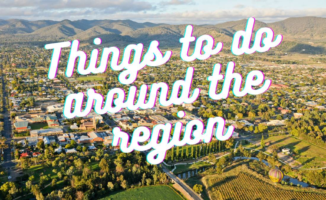 Want to get out? Here's what's on around the Mudgee region