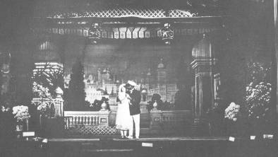 TIMELESS: The Mudgee Town Hall stage in an early 1920s production.