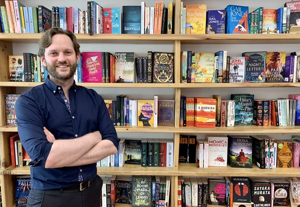 SUCCESS: One of four owners of The Book Nest Mudgee, Sam Paine, says business is going well as they celebrate two months of operation.