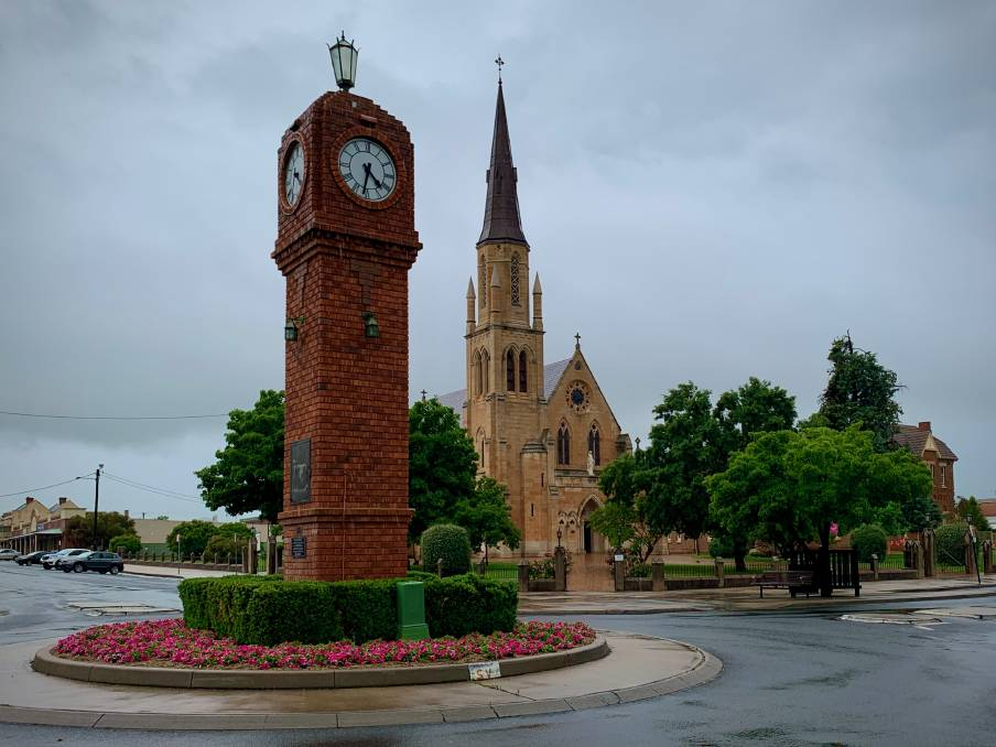The more than 36mm of rain recorded at the Mudgee Airport weather station across the weekend took the location past the figure it averages for an entire year.